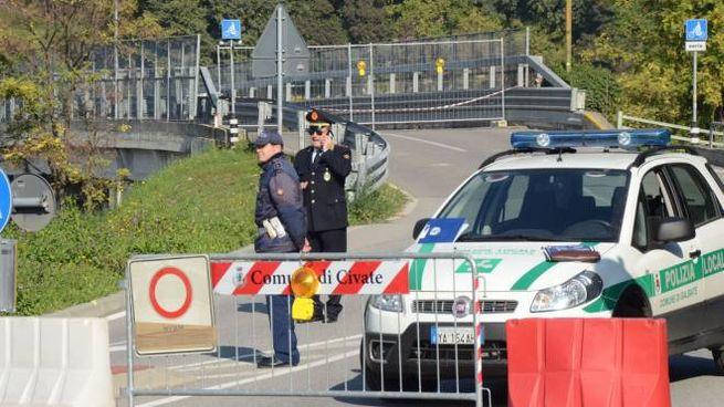 Il ponte di Isella, tuttora chiuso al traffico veicolare