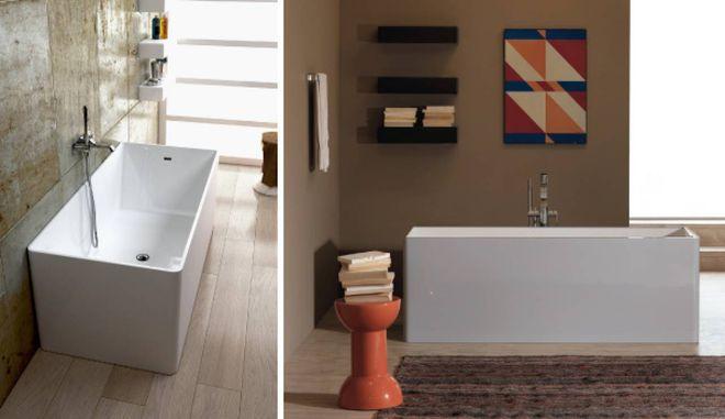 Essere Vasca Da Bagno In Inglese : Vasche da bagno piccole ma funzionali magazine tempo libero