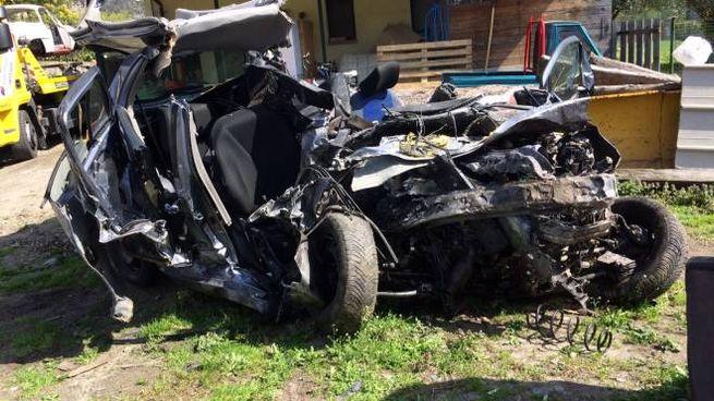 Drammatico incidente a Samolaco