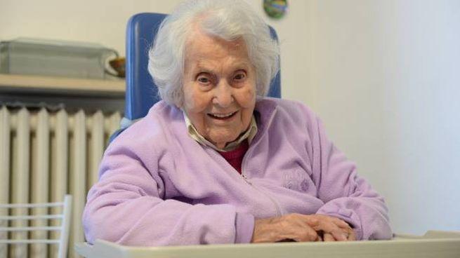 Anna Benericetti, forlivese di 111 anni