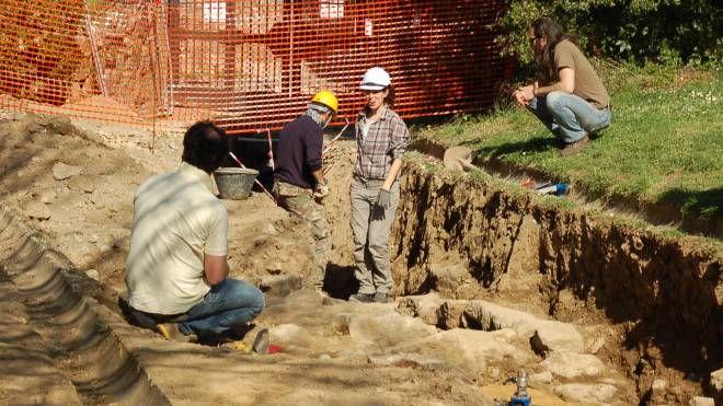 Scavi archeologici a Volterra