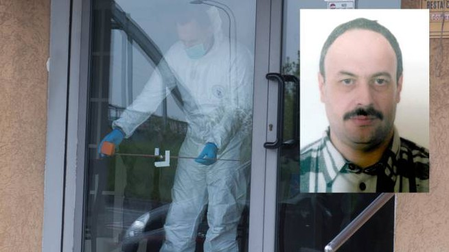 Davide Fabbri, 52 anni, freddato nel suo bar da un rapinatore (Schicchi)