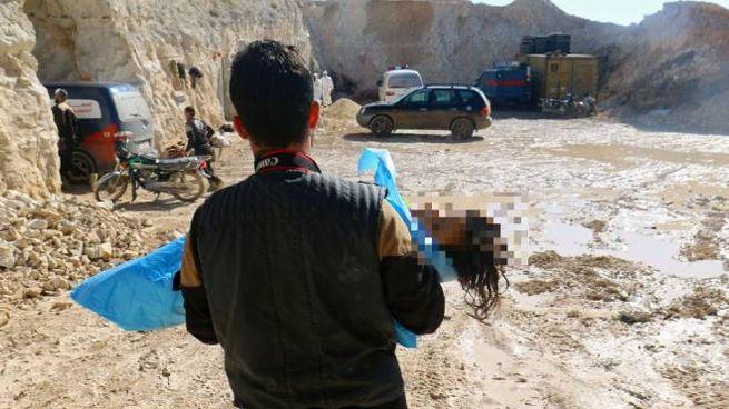 Attacco chimico in Siria (LaPresse)