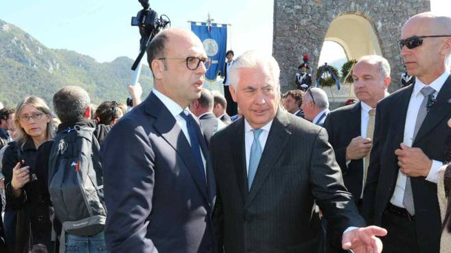 G7, i ministri degli esteri a Stazzema (Foto Umicini)
