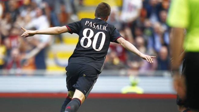 Pasalic quarto marcatore rossonero in Serie A