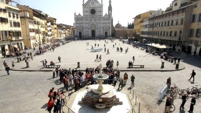 La fontana tornata all'antico splendore