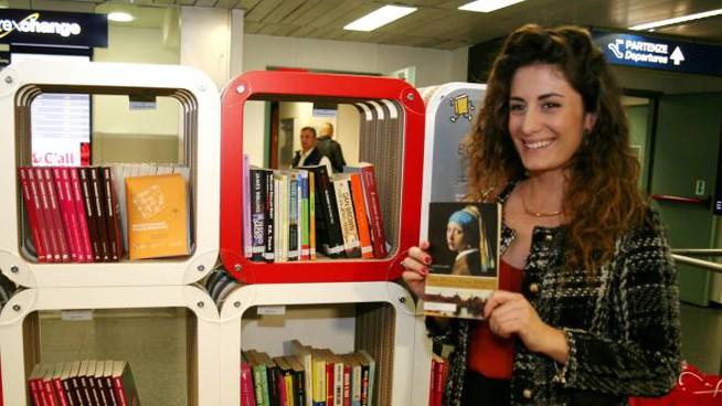 Book crossing in aeroporto a Linate e Malpensa