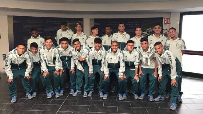 La squadra brasiliana del Palmeiras