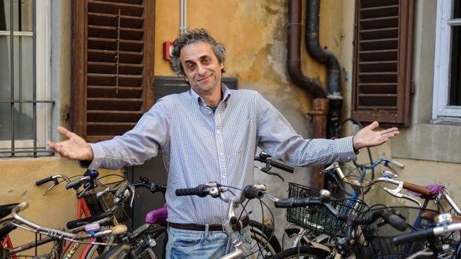 Carlo Alberto Garzonio ha subito ben 11 furti di bicicletta