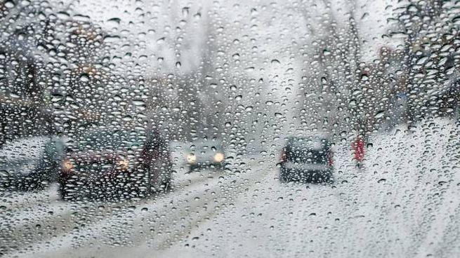 Pioggia e neve sulla Lombardia
