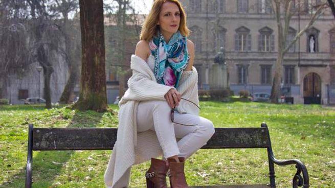 La fashion blogger Margaret Dallospedale