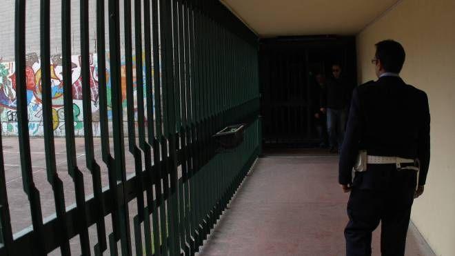 Un corridoio dell'istituto penale minorile Beccaria di Milano