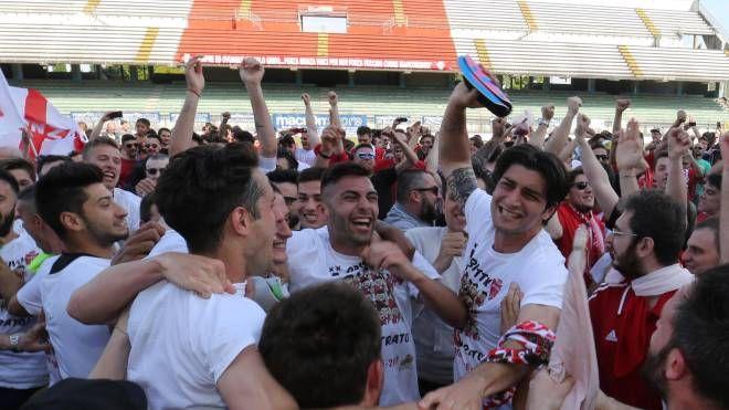 Monza, festa promozione in Lega Pro