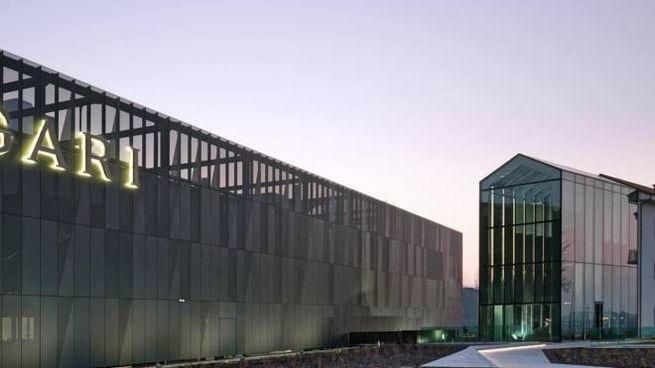La nuova fabbrica a Valenza (Alessandria)