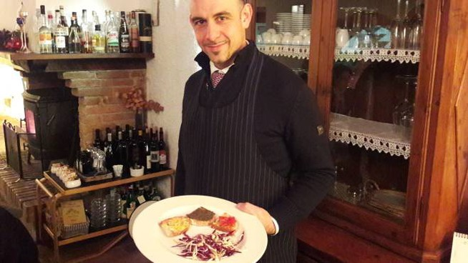 Tommaso Maggioli vi aspetta al frantoio: basta presentarsi col Carlino