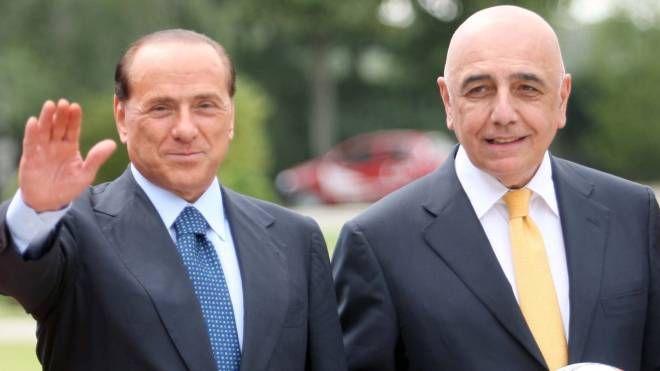 Silvio Berlusconi e Adriano Galliani