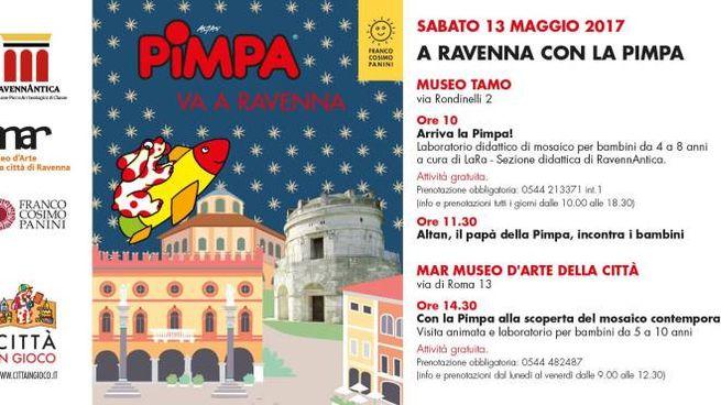 Pimpa a Ravenna
