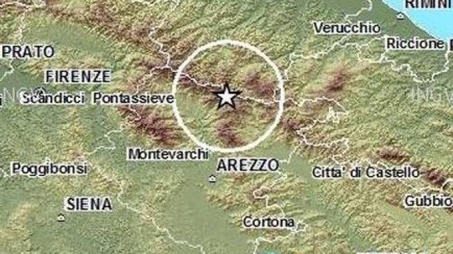 Terremoto sull'Appennino