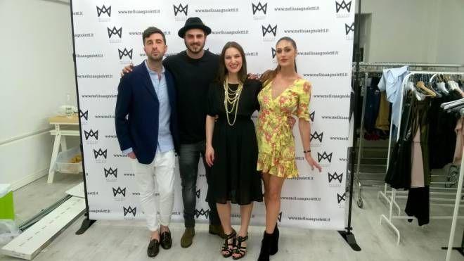 Fabrizio Gasperini, Francesco Monte,  Melissa Agnoletti e Cecilia Rodriguez