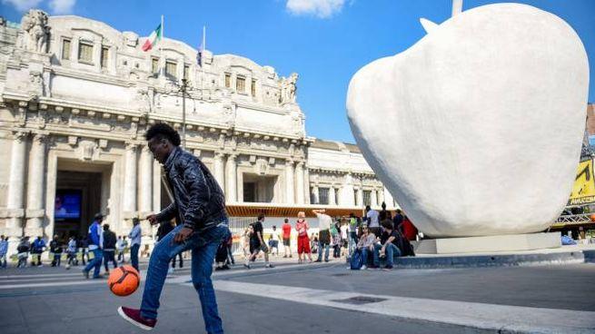 Stazione Centrale a Milano