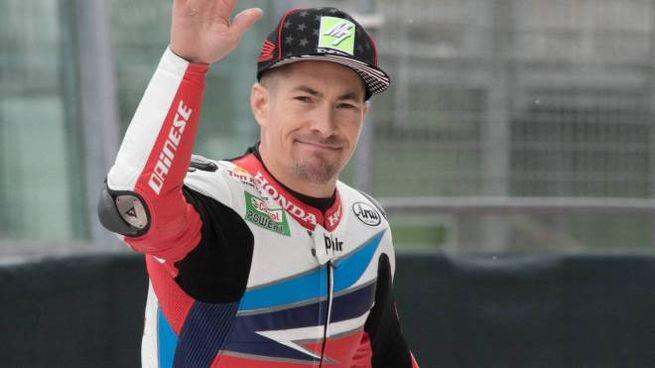Nicky Hayden, il pilota americano di 36 anni rimasto coinvolto nell'incidente avvenuto a Misano