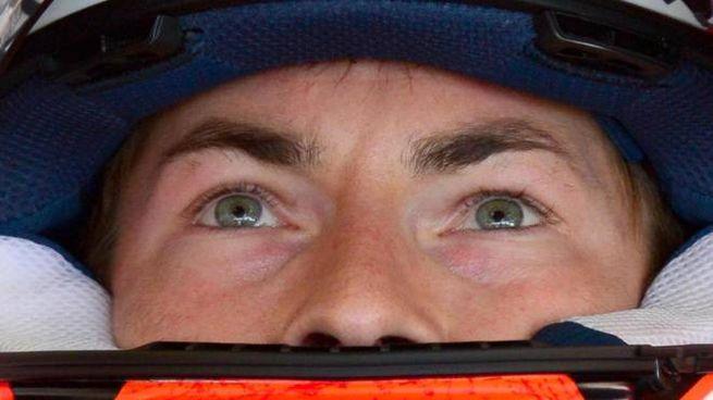 Un primo piano di Nicky Hayden, morto dopo un incidente in bicicletta (Foto Ansa)
