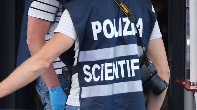 Polizia scientifica, foto generica (Lapresse)