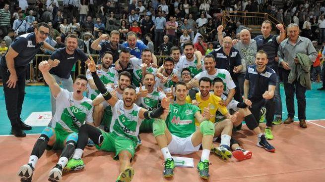 La gioia della squadra (foto Calavita)