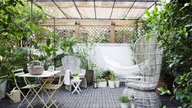 Appartamento scandinavo - la terrazza