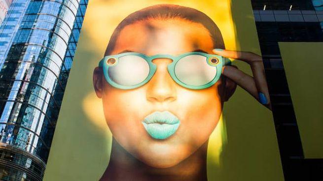 Spectacles, la pubblicità a Times Square