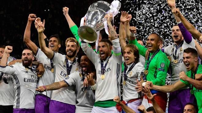 Champions League al Real Madrid (Afp)