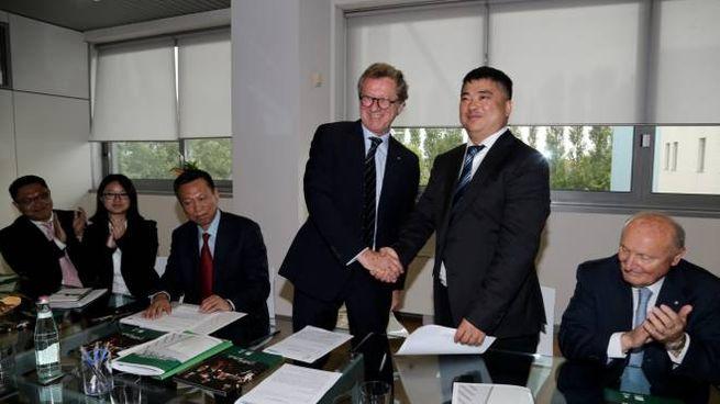 Accordo con cinesi Chanjiu Logistic e Polo Logistico Mortara per scambi commerciali