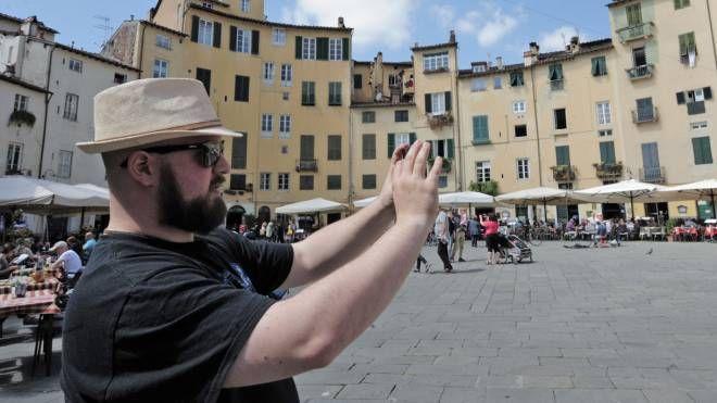 Un turista a Lucca