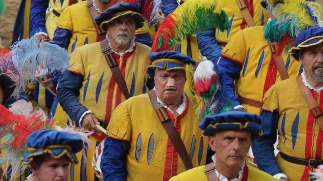 Un particolare del Corteo storico della Repubblica fiorentina