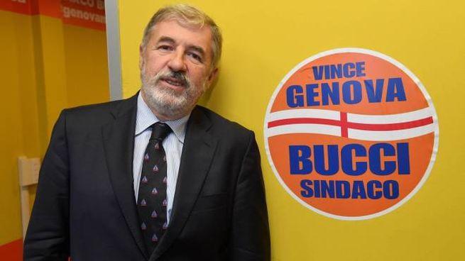 Marco Bucci candidato per il centrodestra a Genova (Ansa)