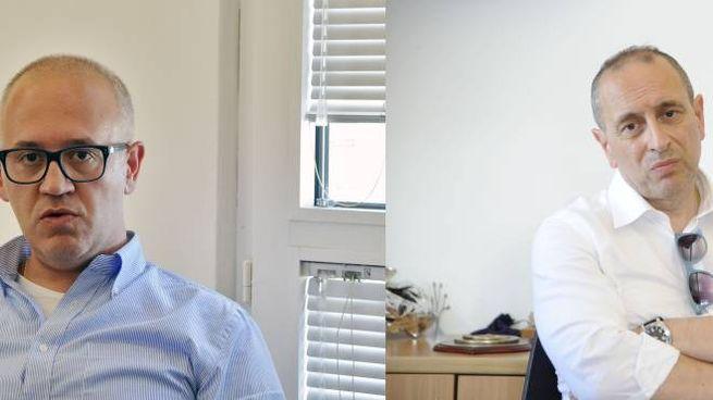 Ciarapica (a sinistra) e Tommaso Claudio Corvatta