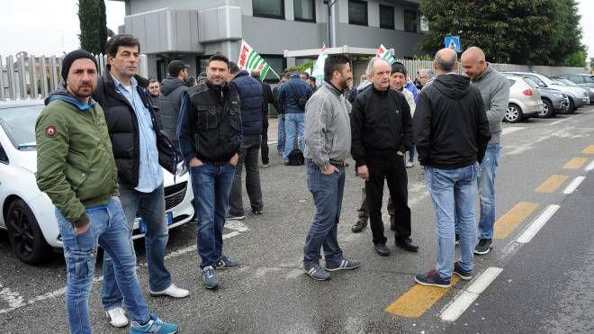 Uno sciopero alla Stf