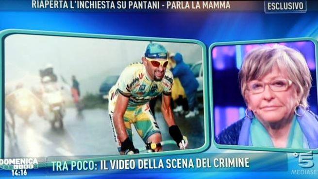 Tonina Pantani ospite da Barbara D'Urso