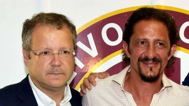 ADDIO? Paolo Armenia  e Igor Protti potrebbero lasciare il Livorno