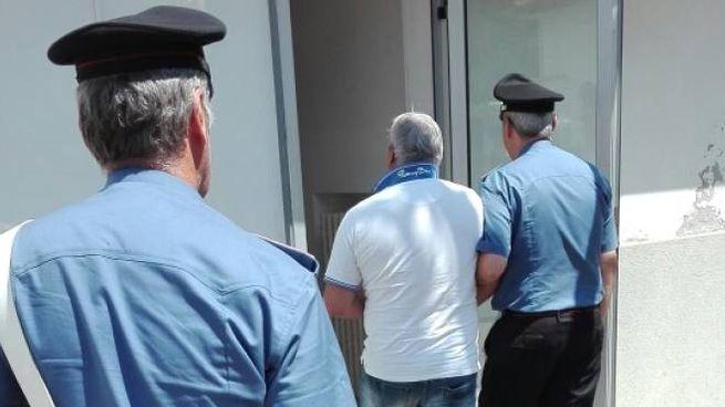L'operazione delle forze dell'ordine a Milano Marittima