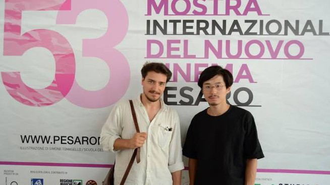 "Yan Cheng e Federico Francioni registi del film ""The first shot"", premio Miccichè"