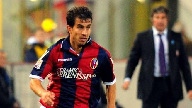 Gyorgy Garics con la maglia del Bologna (foto Serra)