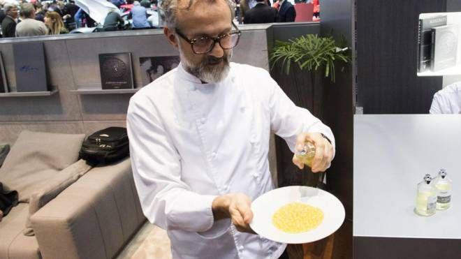Massimo Bottura (Ansa)