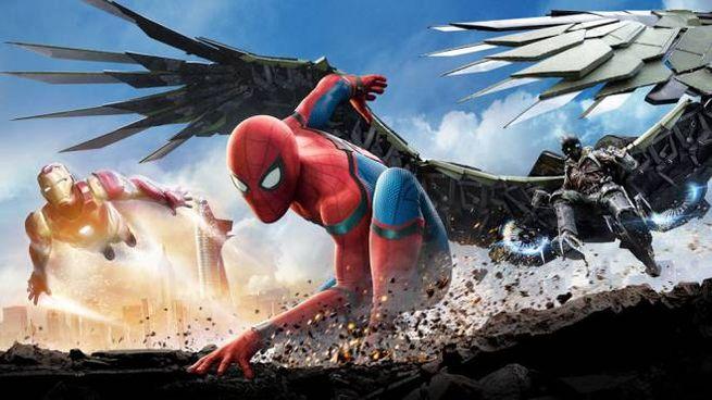 Un dettaglio del poster di 'Spider-Man: Homecoming' – Foto: CTMG