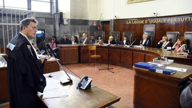 Il pm Paolo Storari in un'udienza del processo per strage di via Palestro a Tutino