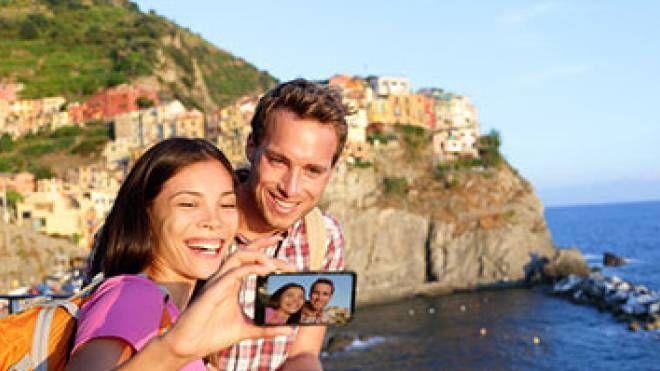 Turisti alle Cinque Terre