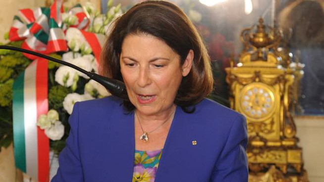 Il prefetto Maria Patrizia Paba (foto Fiocchi)