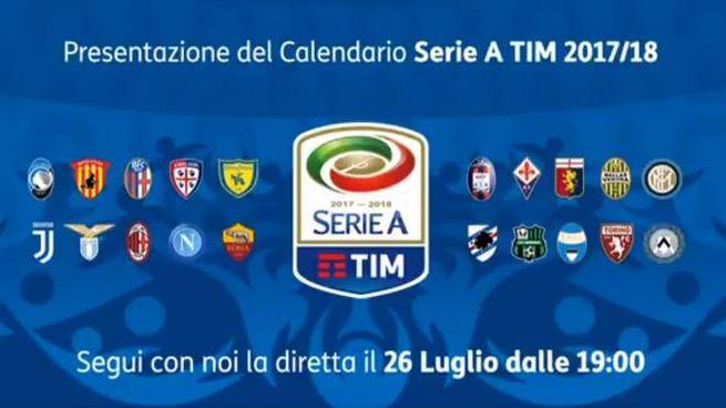 Calendario Erie A.Sorteggio Calendario Serie A 2017 18 Orario Diretta Tv E