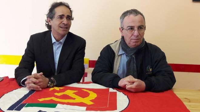Marco Barzanti e Luciano Fedeli del Pci