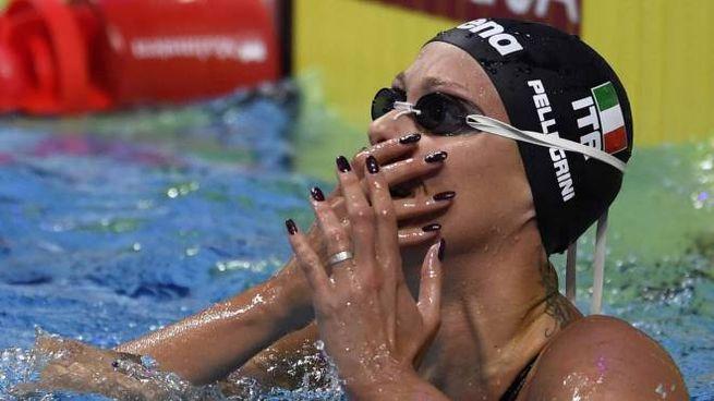Federica Pellegrini oro ai mondiali di Budapest (Afp)